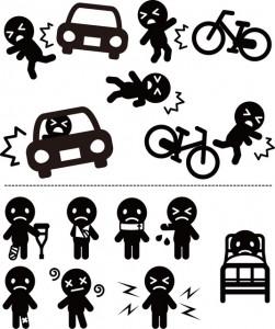 交通事故症状(イラスト)